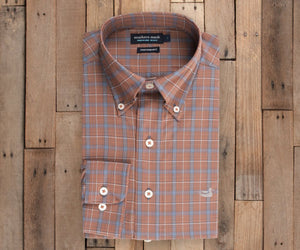 Bastrop Performance Check Dress Shirt