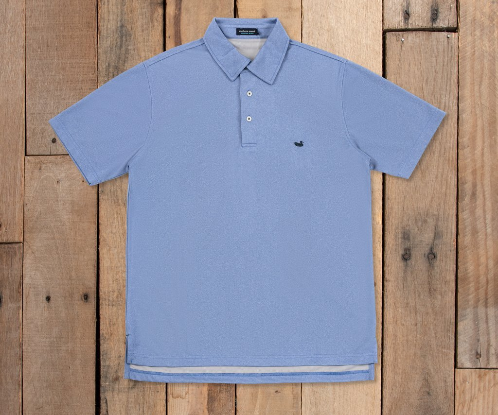 Eagle Heather Performance Polo