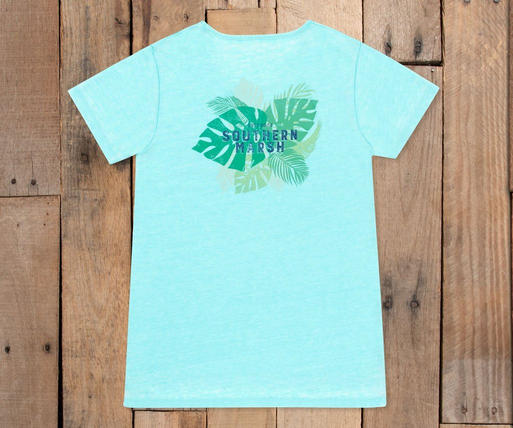 SeaWash™ Tropical Crewneck Tee