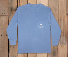 Load image into Gallery viewer, Youth FieldTec  Featherlight LS Tee - Navigation