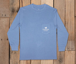 Youth FieldTec  Featherlight LS Tee - Navigation