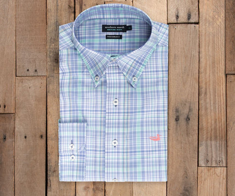 Hays Performance Check Dress Shirt