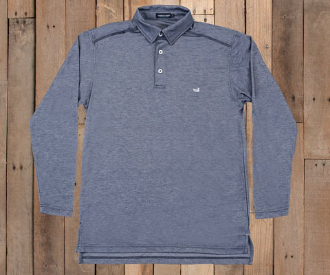 Long Sleeve Jackson Performance Polo