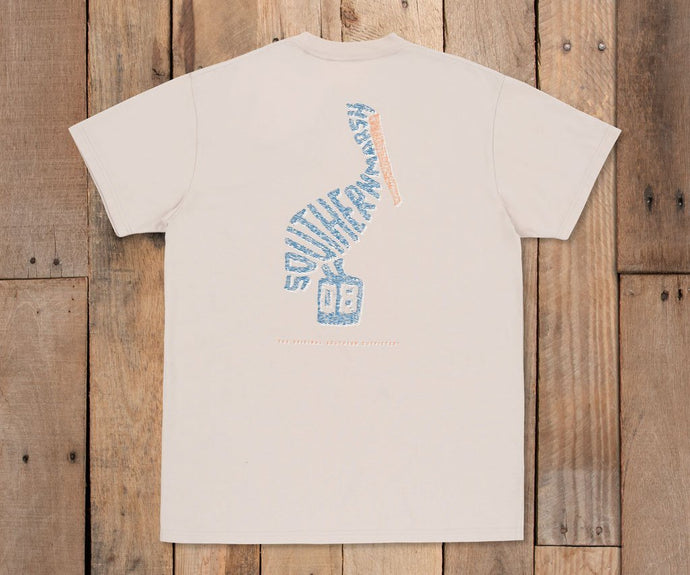 Wildlife Words Tee - Pelican