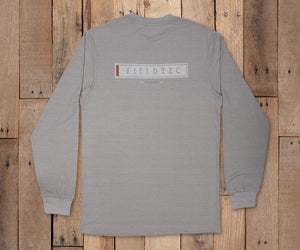 FieldTec™ Heathered Lines Tee - Long Sleeve