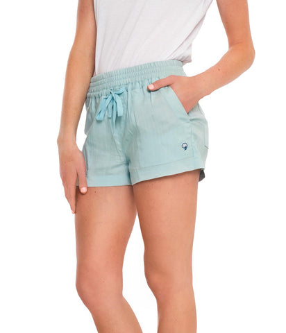 LIGHTWEIGHT TENCEL SHORTS