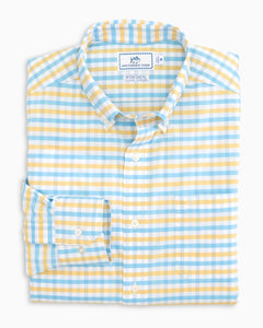 Fuskie Tattersall Intercoastal Performance Sport Shirt