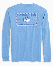 Load image into Gallery viewer, Heathered Original Skipjack LS T-Shirt