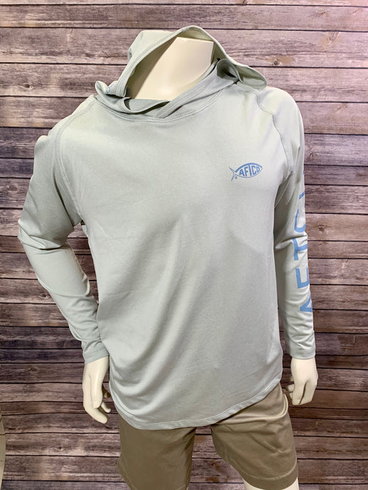 Youth Samurai 2 Hood Performance LS Shirt