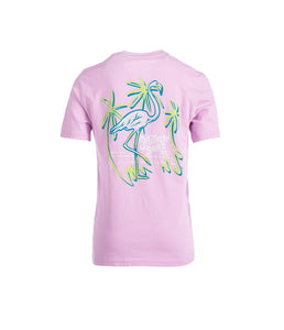 Youth Malibu Flamingo SS Tee