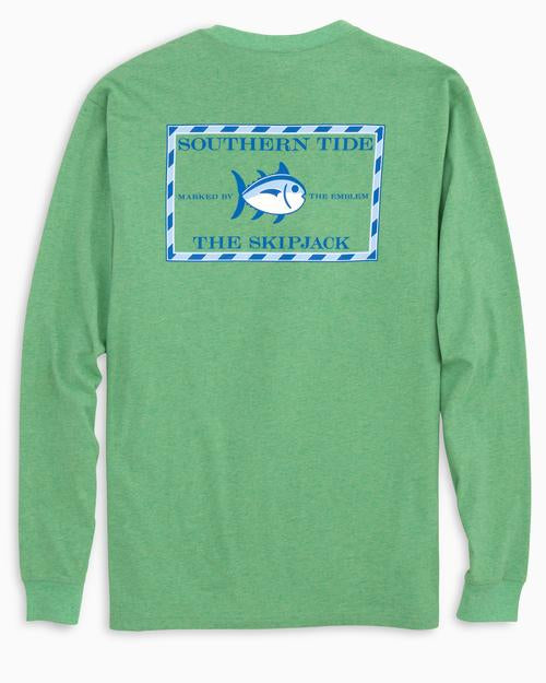 Heathered Original Skipjack LS T-Shirt