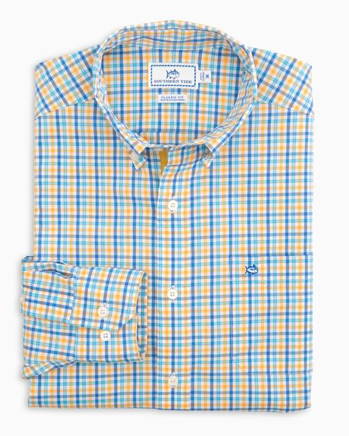 Coastal Passage Triple Gingham Sport Shirt