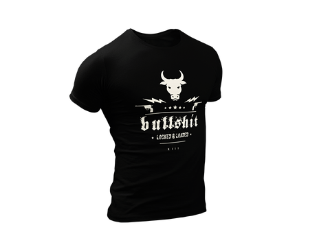 Thirteen's Skull Shop Mens Bull Shit Short sleeve t-shirt