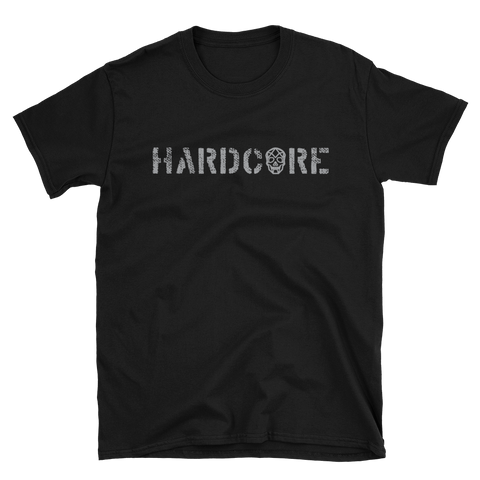 Thirteen's Skull Shop S Mens Skull Hardcore Gym T-Shirt