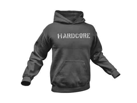 Thirteen's Skull Shop Skull Shop Hardcore Hooded Sweatshirt Hoodie