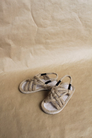 Hemp Rope Sandals - Natural
