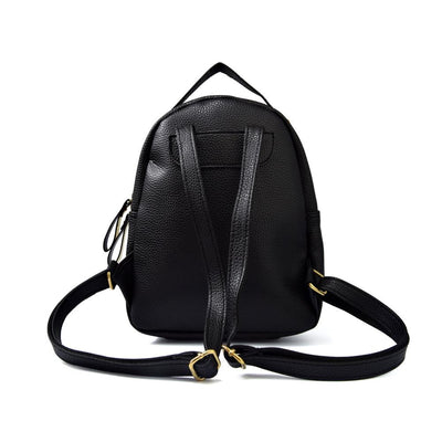 Mokka Leather Backpack
