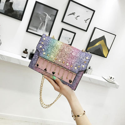Glitter Shoulder Bag