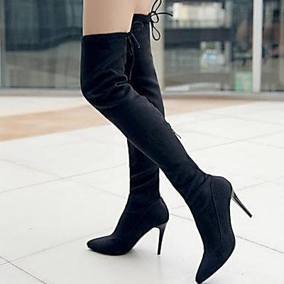 Sharp Over The Knee Boots