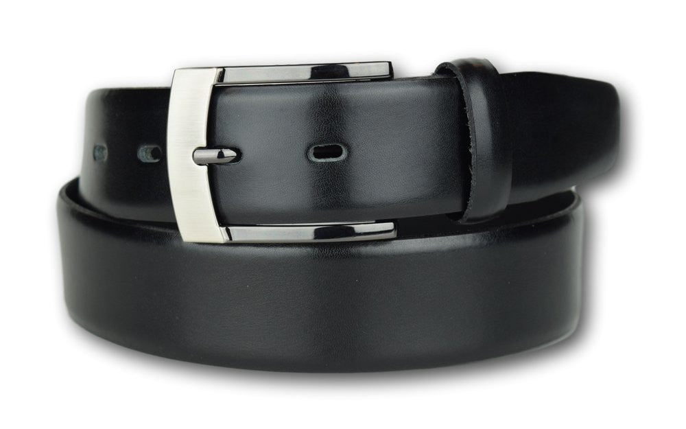 Armin Oehler Leather Belt Black