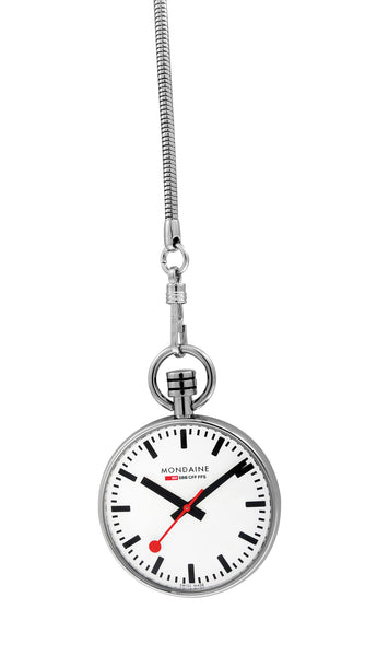 Mondaine Pocket Watch 43mm