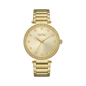 Caravelle New York 'T-Bar' Watch