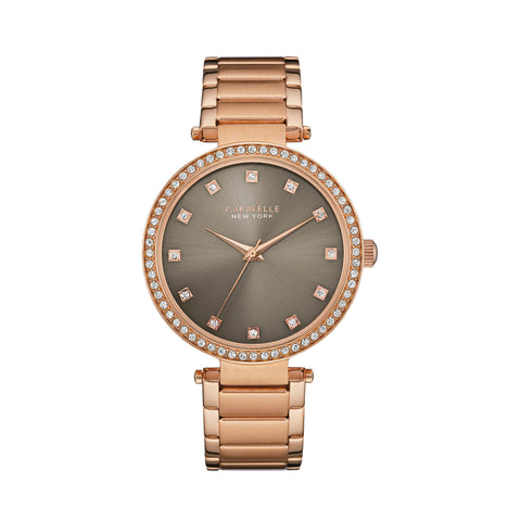 Caravelle New York T-Bar Watch