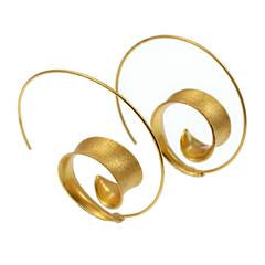 Curl silver/gilt Earrings