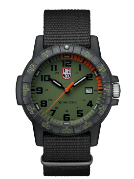 Luminox Sea Turtle green/black dial