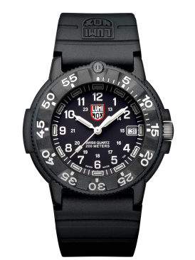 Luminox Navy Seal watch black/white dial