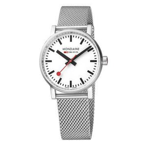 Mondaine evo2, 35 mm, stainless steel watch, MSE.35110.SM