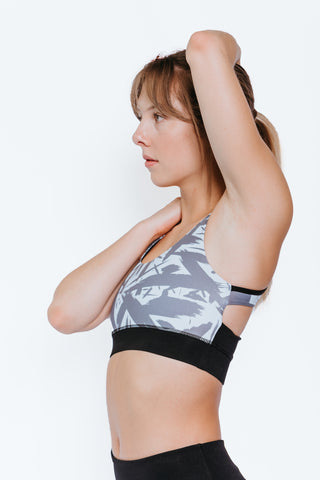 AVERY SPORTS BRA - Brushstroke