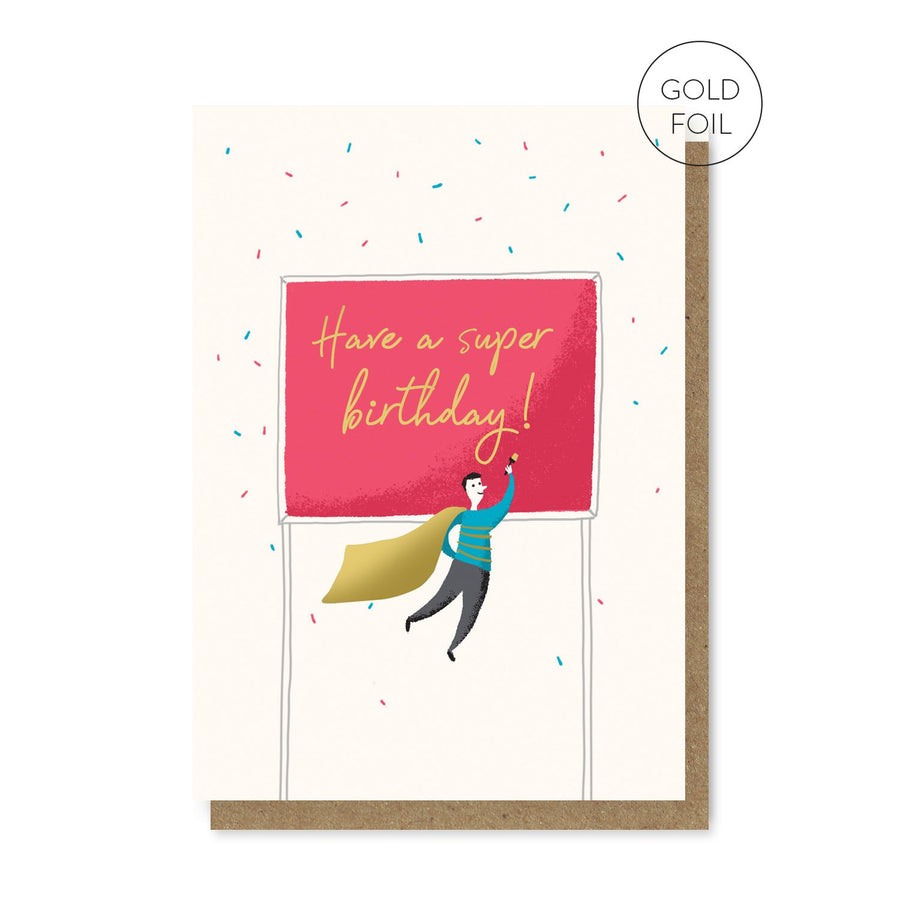 Have a Super Birthday Card