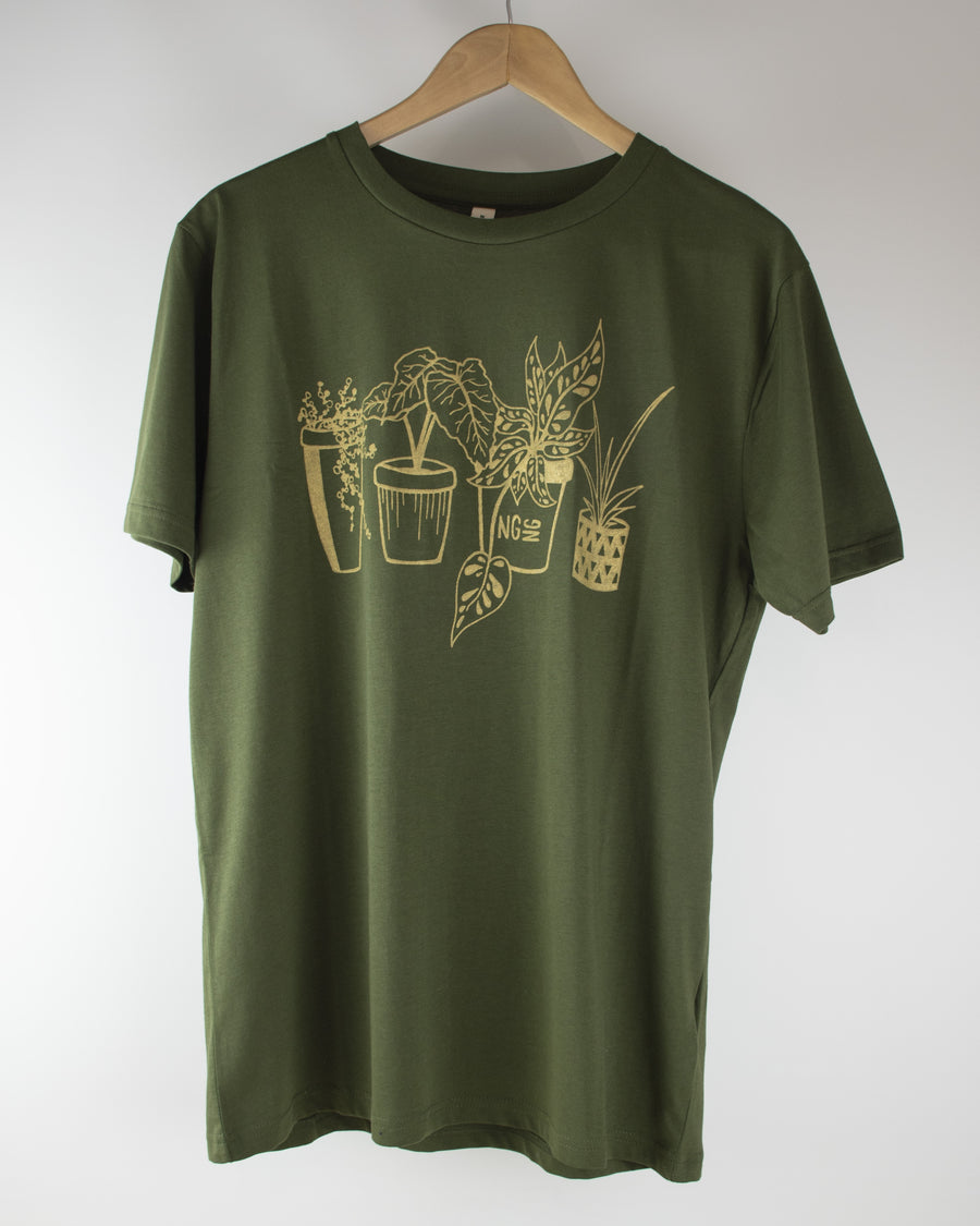 Limited Edition NGNG Houseplant Tee - Green