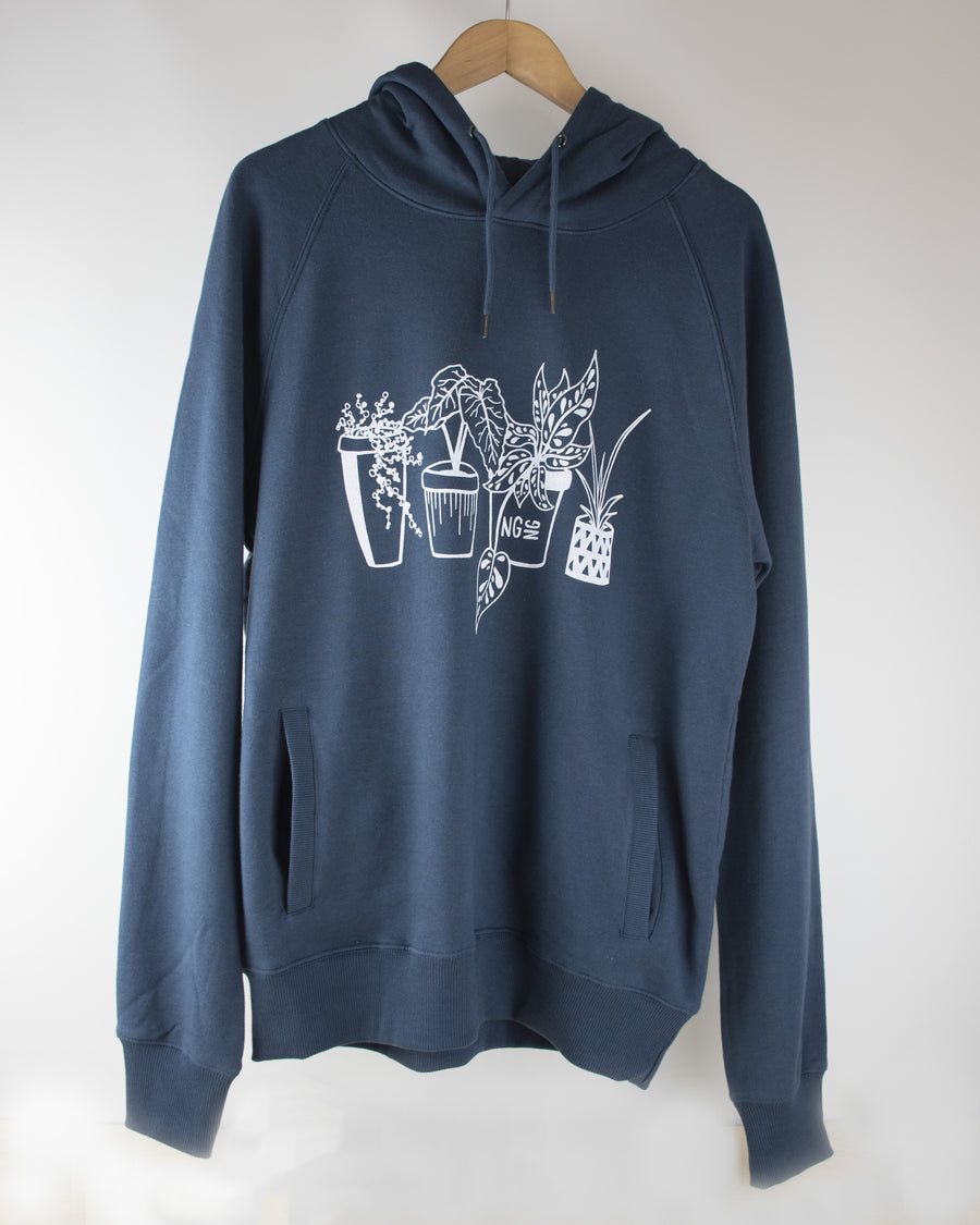 Limited Edition NGNG Houseplant Hoodie - Navy