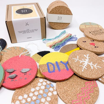 Customise Your Own Cork Coasters Set