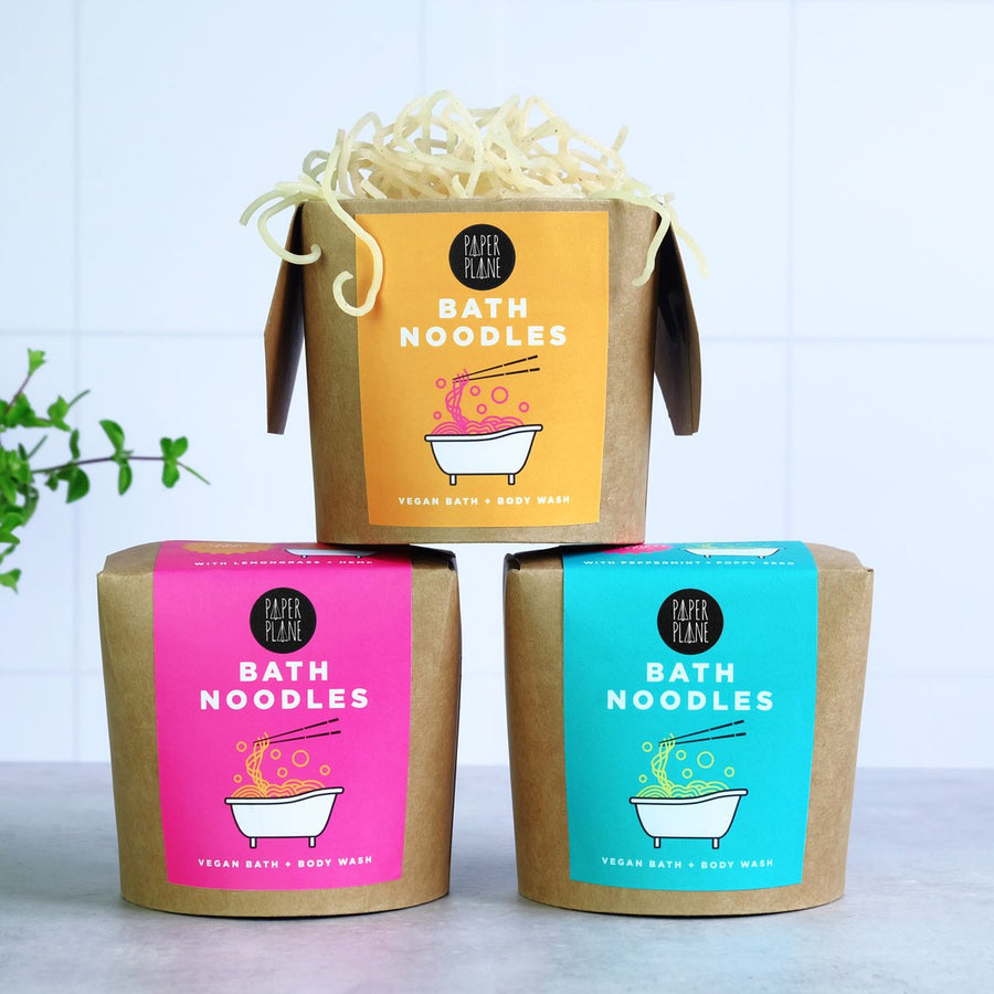 Bath Noodles - 100% Natural and Vegan Body Wash