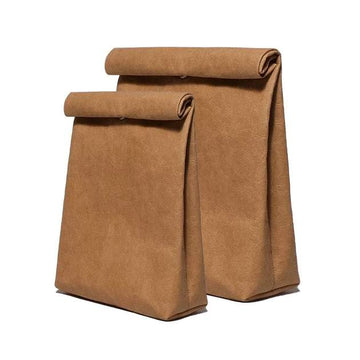 Vegan Leather Lunch Bag