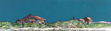 Huts at Borestranda - John O'Neill