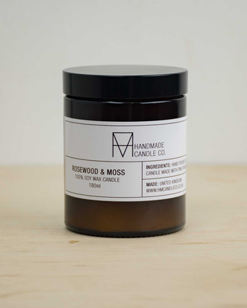 Rosewood and Moss Candle 180ml