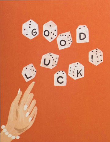 Lucky Dice Card