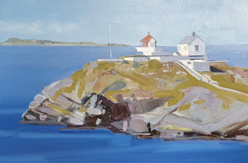 Lighthouse at Fjøløy- John O'Neill