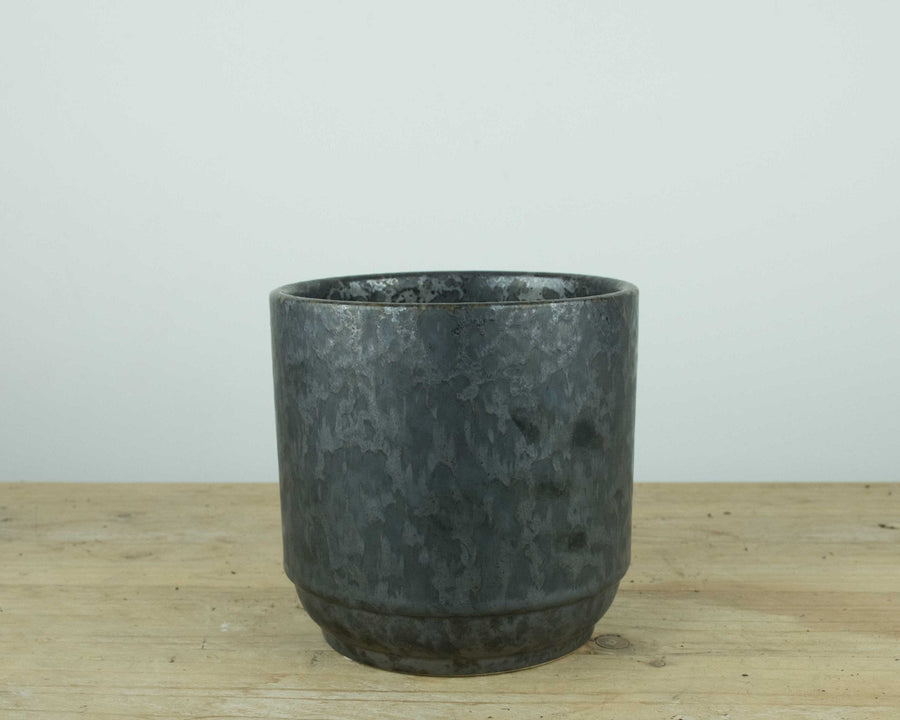Metal Effect Ceramic Pot