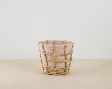 Pink Pot - Stone and Straw