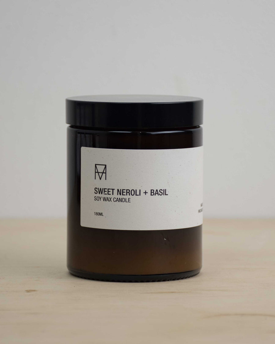 Sweet Neroli & Basil Candle 180ml