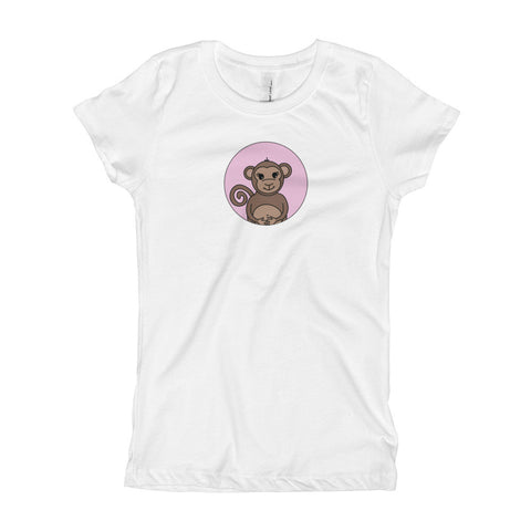 Monkey Adorable Animal Tee