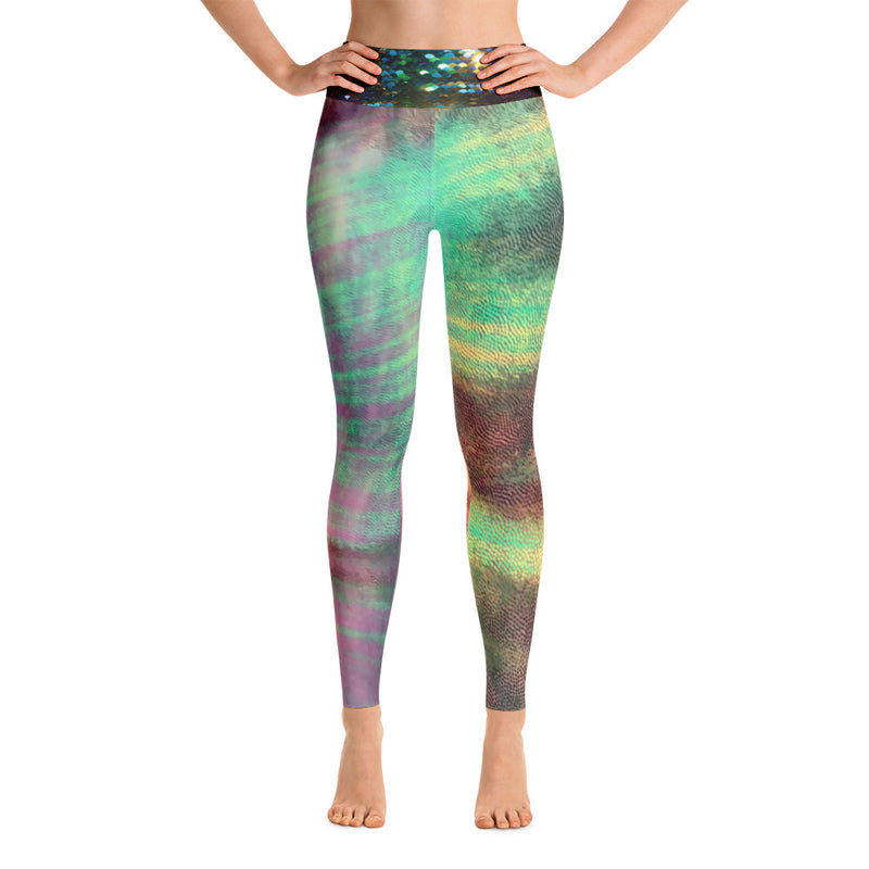 Black Sad Bitch Party Raver Festy Rainbow Yoga Leggings By Ventcri.com - Ventcri