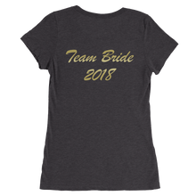 Mother Of The Bride Ladies short sleeve t-shirt By Ventcri.com