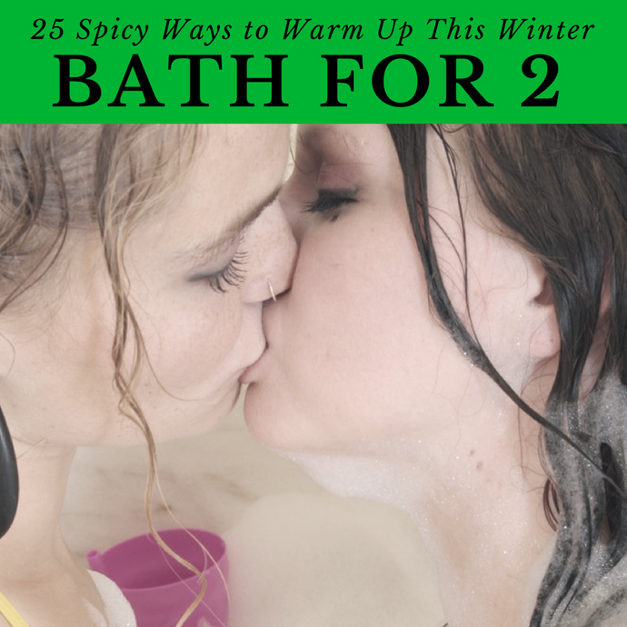 Sexy Bathtime is Easy with Indulgence: Bath Bomb + Massage Candle + Vibrator OH MY!