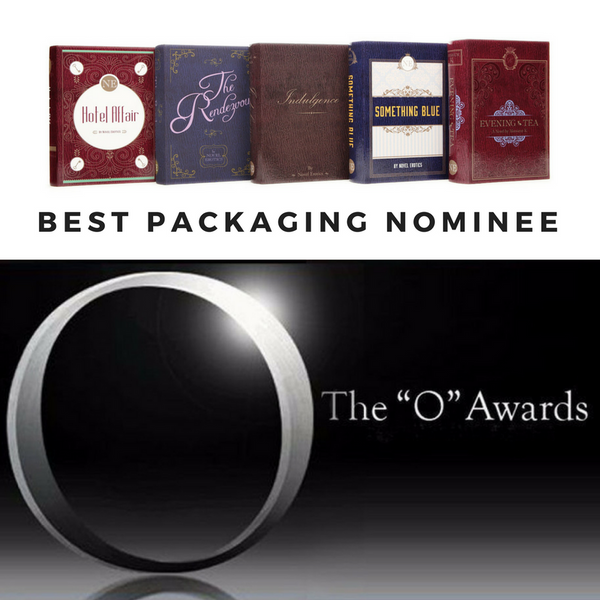 "Novel Erotics nominated for 'Best Packaging' AVN ""O"" Awards"